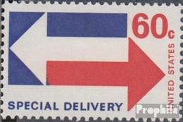 USA Mi.-Nr.: 1034 (kompl.Ausg.) Postfrisch 1971 Eilmarke Pfeile - Stati Uniti