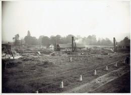 LIEGE PHOTO (22,7 X 16,7 Cm) Octobre 1925 - Fondations Par La SA FRANKI De L'école Technique Quai Du Condroz - Liege