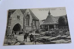 Saint Jean Du Doigt Portail De L Eglise Et L Oratoire - Saint-Jean-du-Doigt