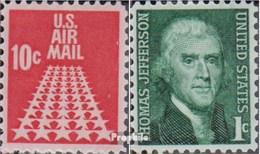 USA 939A,940A Yb (kompl.Ausg.) Postfrisch 1968 Sternenstrasse, Jefferson - United States
