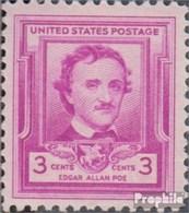 USA 600 (kompl.Ausg.) Postfrisch 1949 Edgar Allen Poe - Unused Stamps