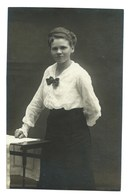 4713 Femme Photograph Ewak Hase Grunberg I. Schl. - Schlesien