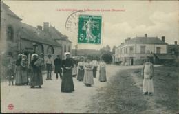 53 LA BOISSIERE / Intérieure Du Village / Très Belle Carte Animée - Frankrijk