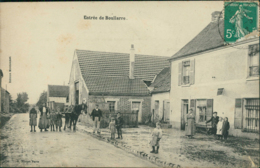 60 BOULLARRE / Entré Du Bourg / Belle Carte Animée - France