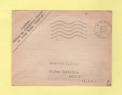 Secap - Paris 49 PP - 1955 - 5 Lignes Ondulees - Marcophilie (Lettres)