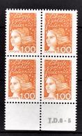 FRANCE  1997 - BLOC DE 4 TP / Y.T. N° 3089 - NEUFS** - France