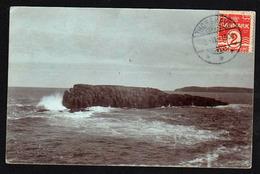 FEROE (Danemark) Timbre N° 49 Obl Thorshavn En 1908 Sur Une RARE Carte Photo..... - Féroé (Iles)