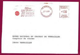 Paris 6e - 1979 - Offrez Les Bijoux Du Musée Du Louvre. Offer The Jewels Of The Louvre Museum. EMA SATAS Meter. - Culture