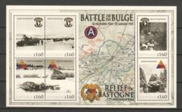 Guyana - MNH Sheet 2 WORLD WAR 2 - BATTLE OF THE BULGE - RELIEF OF BASTOGNE - Seconda Guerra Mondiale