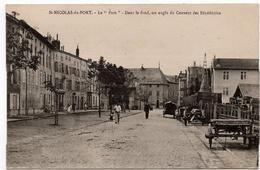 Saint Nicolas Du Port : Le Port. Dans Le Fond, Un Angle Du Couvent Des Bénédictins (Imprimeries Réunies, Nancy) - Saint Nicolas De Port