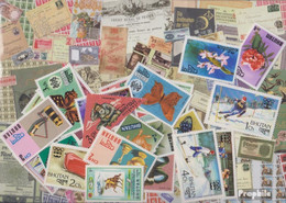 Bhutan Briefmarken-25 Verschiedene Marken - Bhutan