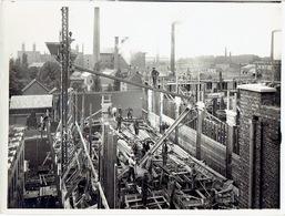MERKSEM - Fotokaart (24 X 18 Cm) Juli 1927 - Belgische Boerenbond - Uitbrending Van De Melassefabriek - Antwerpen