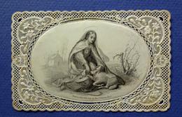 IMAGE RELIGIEUSE CANIVET    ...ED.  BOUASSE LEBEL .......MARIE CONSOLATRICE...... AGNEAU - Andachtsbilder