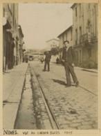 Nîmes . Vue Au Chemin D'Uzès . 1903 . - Lieux