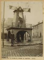 Nîmes . Le 14 Juillet , Estrade De Musique . 1903 . - Lieux