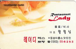 SOUTH KOREA - Restaurant Lady(W2000), 06/97, Used - Korea, South