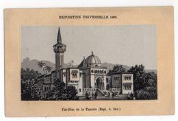 Chromo - HERARD --Exposition Universelle  1889 --Pavillon De La Tunisie......à Saisir - Autres