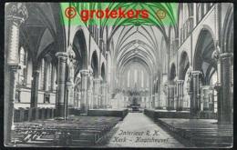 KAATSHEUVEL Interieur R.K. Kerk Ca 1918 - Kaatsheuvel