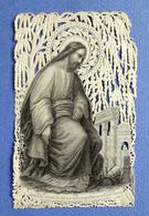 IMAGE RELIGIEUSE CANIVET...... ED. VAURS........ LE CHRIST A JÉRUSALEM - Andachtsbilder