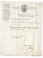 SCHERER Barthélémy, Ministre De La Guerre , Lettre Du 9 Frimaire An 7( 29 Nov 1798) Révolution - Autographes