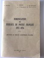 Pothion 1966 Nomenclature Des Petits Et Gros Chiffres 1966 - Andere