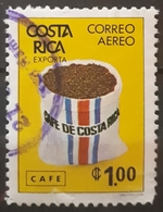 COSTA RICA DEFECTUOSO 1980 Airmail - Costa Rican Products. USADO - USED. - Costa Rica
