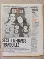 Journal Libération (3 Mars 1993) Enquête Sexualité Français - Mitterrand/article 16 - Secte Davidian- Gaz Rares - Zeitungen