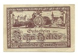 1920 - Austria - Desselbrunn Notgeld N103 - Austria