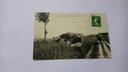 Environs De Vatan Le Dolmen De Liniez 36 Attelage 1914 - France