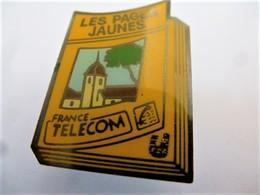 PINS FRANCE TELECOM LES PAGES JAUNES  / 33NAT - France Telecom