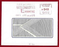 Aire-sur-la Lys - 1970 - Plus De Raccommodage, Bas Et Chaussettes / No More Darning, Stockings And Socks.EMA HAVAS Meter - Textiles