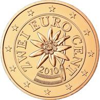 Autriche, 2 Euro Cent, 2010, FDC, Copper Plated Steel, KM:3083 - Autriche