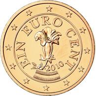 Autriche, Euro Cent, 2010, FDC, Copper Plated Steel, KM:3082 - Autriche