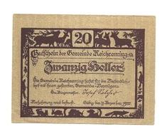 1920 - Austria - Reichraming Notgeld N104 - Austria