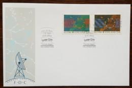 Finlande - FDC 1991 - YT N°1110, 1111 - EUROPA / L'EUROPE ET L'ESPACE - Finlande