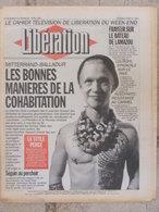 Journal Libération (3/4 Avril 1993) Cohabitation - Lamazou - L'Europe Syndicale - AUschwitz - Furiani Deuil-Tiozzo-Bowie - Zeitungen