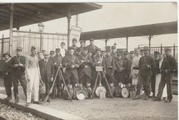 CPA Serqueux Poste Militaire Grève  Cheminots - Militares