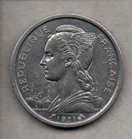 Réunion - 2 Frs - 1971 (verso Voir Scan) - Réunion