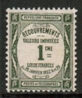 FRANCE  Scott # J 46* VFMINT HINGED  (Stamp Scan # 520) - Postage Due