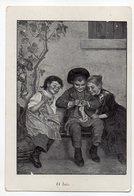 Chromo - Chocolat Du Prado---enfants (tricot,rire ).....à Saisir - Chocolade