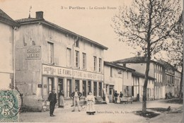 PERTHES - LA GRANDE ROUTE - LE FAMILISTERE - TRES BELLE CARTE ANIMEE - 2 SCANNS - TOP !!! - Frankreich