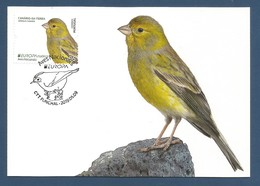 Portugal / Madeira   2019 , EUROPA CEPT Birds - Aves Nacionals - Maximum Card - CTT Funchal 2019.05.09 - 2019