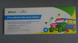 Phillipines - Cebu Pacific Smart Card With Cover - Filippine