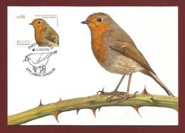 Portugal    2019 , EUROPA CEPT Birds - Aves Nacionals - Maximum Card - CTT Lisboa 2019.05.09 - 2019