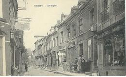 CHIMAY : Rue Rogier - RARE VARIANTE - Chimay