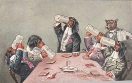 Chiens Habillés, A Votre Santé!...  Scan - Honden