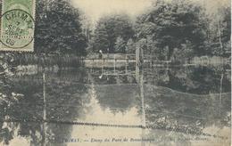 CHIMAY : Etang Du Parc De Beauchamps - Cachet De La Poste 1908 - Chimay