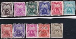 France  .   Yvert    .    Taxe  67/77    .       O  Et  *    .    Oblitéré  Et Neuf * - 1859-1955 Oblitérés