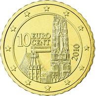 Autriche, 10 Euro Cent, 2010, FDC, Laiton, KM:3139 - Autriche