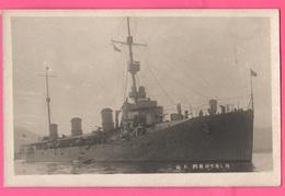 Regia Marina Nave Esploratore MARSALA Navi Navires Ships Schiffe Marine Navy Bateaux Barche - Guerra